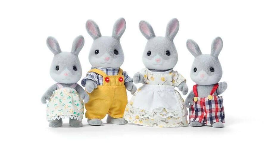 Sylvanian Families Conejos